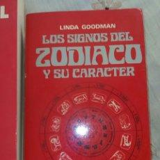 Libros de segunda mano: LOS SIGNOS DEL ZODIACO Y SU CARACTER. Lote 276679848