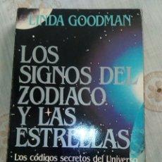 Libros de segunda mano: LOS SIGNOS DEL ZODIACO Y LAS ESTRELLAS. Lote 276680923
