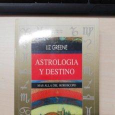 Livros em segunda mão: ASTROLOGIA Y DESTINO LIZ GREENE ED. OBELISCO - URANIA. 1996. Lote 276717178