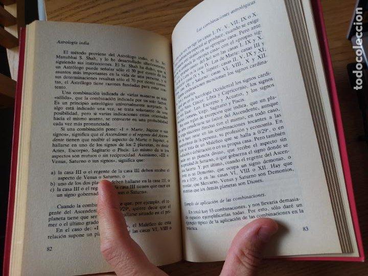 Libros de segunda mano: Astrologia india, Finn Wandahl, ed. Indigo. 1990. - Foto 7 - 278937883