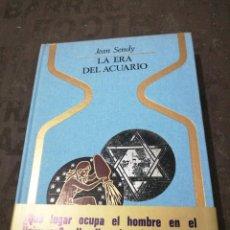 Livres d'occasion: JEAN SENDY - LA ERA DE ACUARIO. Lote 284672888