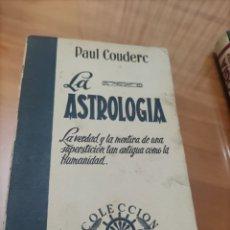 Libros de segunda mano: LA ASTROLOGÍA.. Lote 288412863
