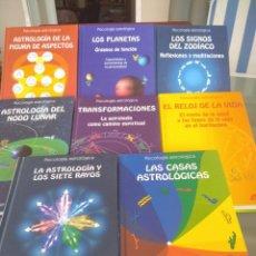 Libros de segunda mano: PSICOLOGIA ASTROLOGICA-FANTASTICO LOTE DE 8 LIBROS COMO NUEVOS-BRUNO Y LOUISE HUBER-API-VER TITULOS. Lote 288469923