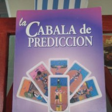 Libros de segunda mano: LA CABALA DE PREDICCION-J. IGLESIAS JANEIRO-EDITORIAL KIER-2003. Lote 289437878