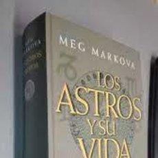 Libros de segunda mano: LOS ASTROS Y SU VIDA MEG MARKOVA. Lote 289576538