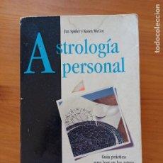 Libros de segunda mano: ASTROLOGIA PERSONAL - JAN SPILLER Y KAREN MCCOY - AGUILAR RESPUESTA (8I). Lote 291859538