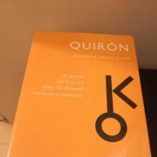 Libros de segunda mano: QUIRON BARBARA HAND CLOW OBELISCO 2002 DESCATALOGADO MUY BUEN ESTADO. Lote 293917873