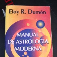 Libros de segunda mano: LIBRO MANUAL DE ASTROLOGÍA MODERNA, ELOY R DUMON. 1996. Lote 294169478