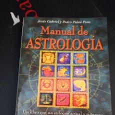 Libros de segunda mano: LIBRO MANUAL DE ASTROLOGIA CON CD - JESUS GABRIEL Y PEDRO PALAO PONS.2001. Lote 294169918