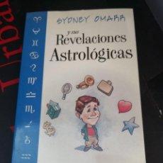 Libros de segunda mano: LIBRO SYDNEY OMARR Y SUS REVELACIONES ASTROLÓGICAS 1999 ED. LLEWELLYN. Lote 294172913