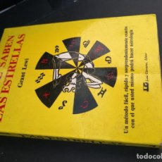 Libros de segunda mano: LO QUE SABEN LAS ESTRELLAS. GRANT LEWI.. Lote 294175978