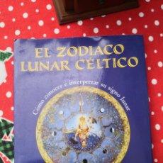 Libros de segunda mano: EL ZODIACO LUNAR CELTICO, HELENA PATERSON MARGARET WALTY, CONOCER E INTERPRETAR SU SIGNO LUNAR, EDAF. Lote 294844493