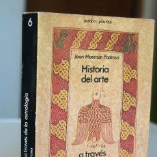 Libros de segunda mano: JOAN MARIMÓN PADROSA - HISTORIA DEL ARTE A TRAVÉS DE LA ASTROLOGÍA - ANTHROPOS. Lote 296891068