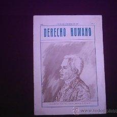 Libros de segunda mano: LOGIA MASON MASONERIA DERECHO HUMANO GENERALISIMO FRANCISCO ANTONIO GABRIEL DE MIRANDA. Lote 27619242