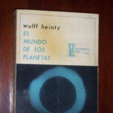 Libros de segunda mano: EL MUNDO DE LOS PLANETAS POR WULFF HEINTZ DE ED. IBEROAMERICANAS EN MADRID 1968. Lote 21721513