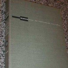 Libros de segunda mano: LA LUNA PROXIMO OBJETIVO ASTRONAUTICO, POR P. MATEU SANCHO - PLAZA Y JANÉS - ESPAÑA - 1964. Lote 20628789