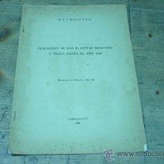 Libros de segunda mano: ASTRONOMIA-FENOMENOS DE LOS PLANETAS MERCURIO Y VENUS HASTA EL AÑO 2000. Lote 22811487