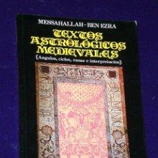 Libros de segunda mano: TEXTOS ASTROLÓGICOS MEDIEVALES.. Lote 26021083