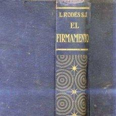 Libros de segunda mano: RODÉS : EL FIRMAMENTO (SALVAT, 1939). Lote 27025414