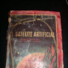 Libros de segunda mano: EL SATELITE ARTIFICIAL, POR IGNACIO PUIG - BETS - ESPAÑA - 1956. Lote 27610923