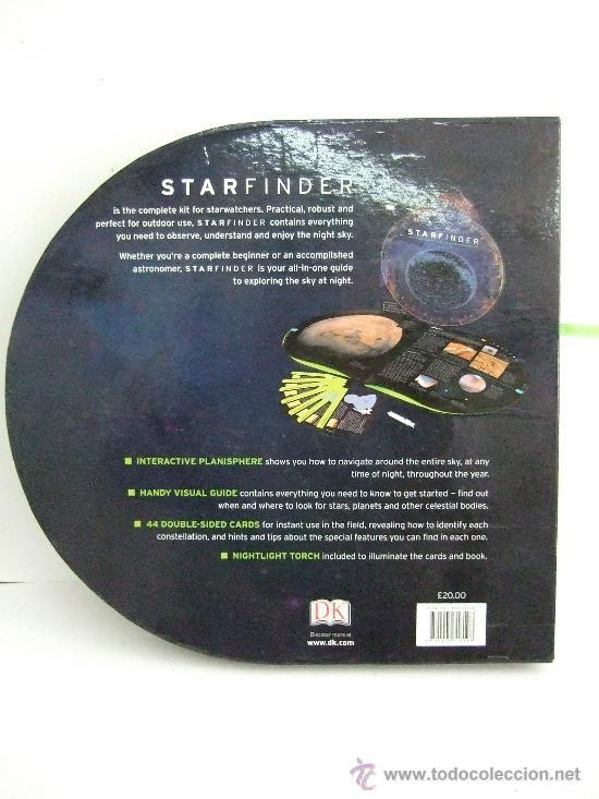 Libros de segunda mano: STARFINDER- ASTRONOMIA - GUIA COMPLETA PARA EXPLORAR EL CIELO NOCTURNO -EN INGLES - Foto 2 - 31336885