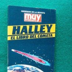 Livres d'occasion: HALLEY. EL LIBRO DEL COMETA - CELSO COLLAZO - RETRATO DE EDMUND HALLEY 1646/1742 - 1985 - 1ª EDICION. Lote 32459554