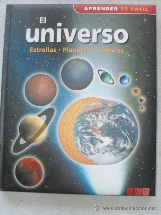 APRENDER ES FACILEL UNIVERSO - ESTRELLAS - CONSTELACIONES - GALAXIAS - (Libros de Segunda Mano - Ciencias, Manuales y Oficios - Astronomía)
