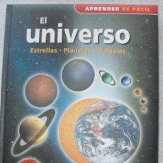 Libros de segunda mano: APRENDER ES FACILEL UNIVERSO - ESTRELLAS - CONSTELACIONES - GALAXIAS - . Lote 33121840