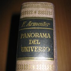 Libros de segunda mano: PANORAMA DEL UNIVERSO - FEDERICO ARMENTER DE MONASTERIO - (ASTRONOMÍA). Lote 35720391