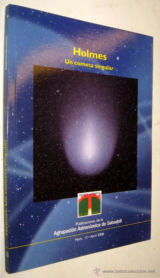Holmes Un Cometa Singular Xavier Puig Agrup Comprar Libros De