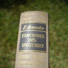 Libros de segunda mano: PANORAMA DEL UNIVERSO, FEDERICO ARMENTER DE MONASTERIO. ED.AYMÁ 1955. Lote 38480752
