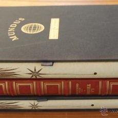 Libros de segunda mano: MUNDUS NOVUS ET VETERUS - EDICION NUMERADA LIMITADA AGOTADA -COSMOGRAFIA PTOLOMEO. Lote 43480245