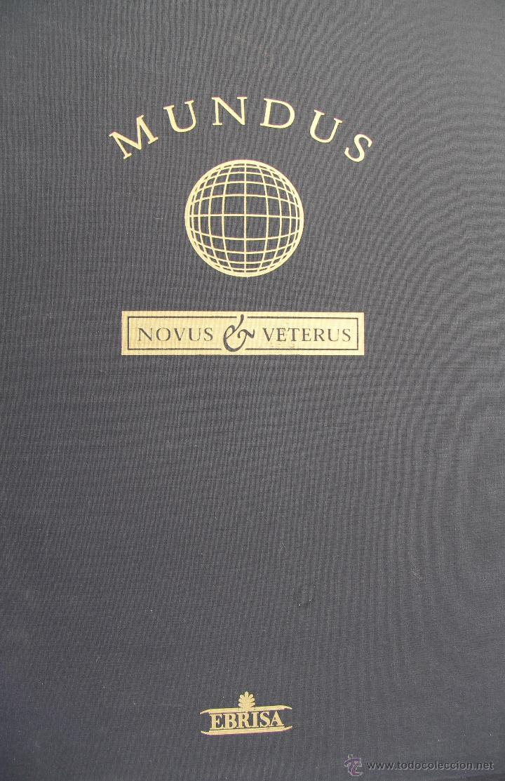 Libros de segunda mano: MUNDUS NOVUS ET VETERUS - EDICION NUMERADA LIMITADA AGOTADA -COSMOGRAFIA PTOLOMEO - Foto 2 - 43480245