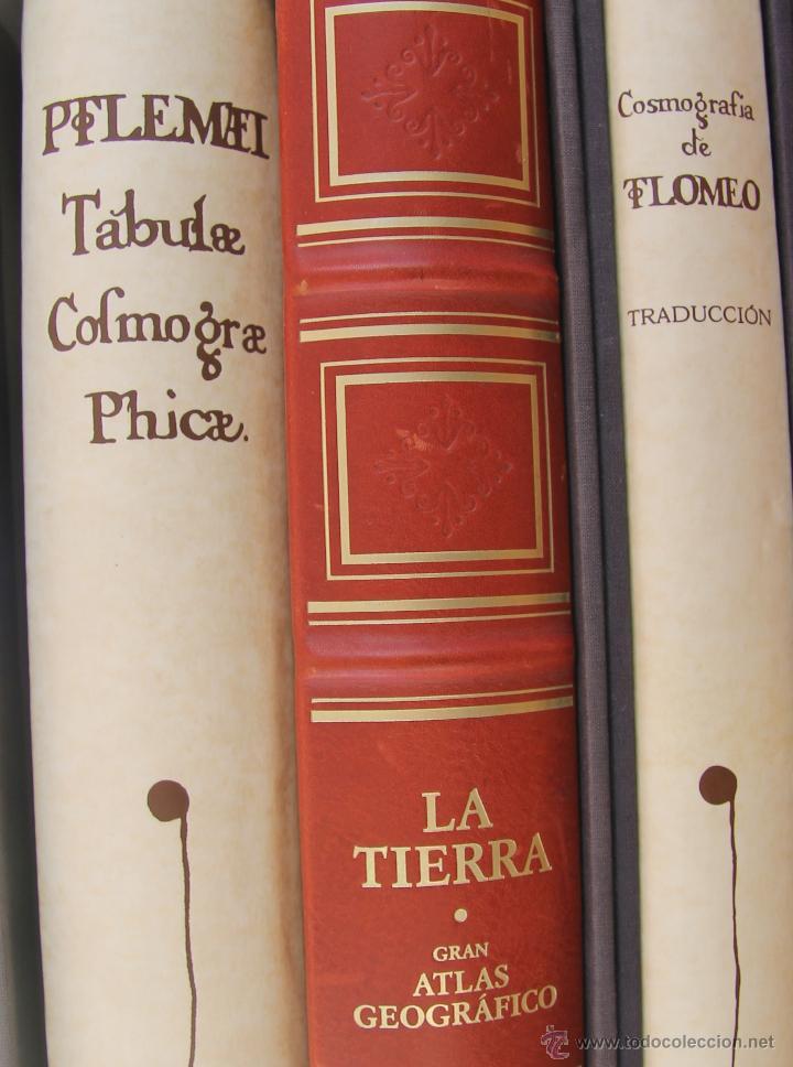 Libros de segunda mano: MUNDUS NOVUS ET VETERUS - EDICION NUMERADA LIMITADA AGOTADA -COSMOGRAFIA PTOLOMEO - Foto 3 - 43480245