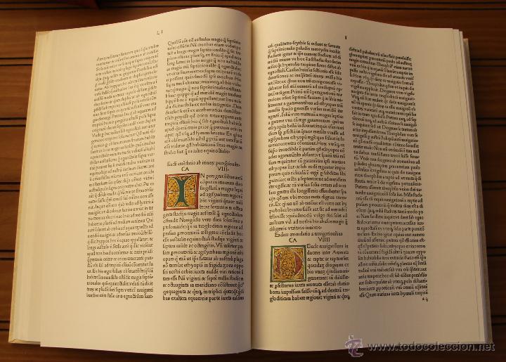 Libros de segunda mano: MUNDUS NOVUS ET VETERUS - EDICION NUMERADA LIMITADA AGOTADA -COSMOGRAFIA PTOLOMEO - Foto 13 - 43480245