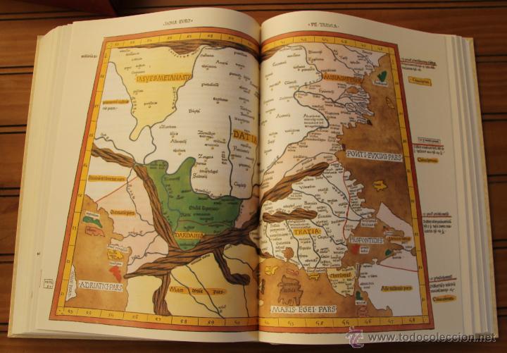 Libros de segunda mano: MUNDUS NOVUS ET VETERUS - EDICION NUMERADA LIMITADA AGOTADA -COSMOGRAFIA PTOLOMEO - Foto 14 - 43480245