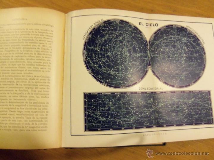 Libros de segunda mano: ASTRONOMIA, por José Comas Solá - RARA EDICION - Edit. Sopena - 1939 - ESPAÑA - Foto 6 - 44662480