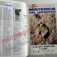 Libros de segunda mano: MISTERIOS DEL UNIVERSO DE INFIN. PEQUEÑO A GRANDE LIBRO CIENCIAS ASTRONOMÍA CARL SAGAN ASIMOV COSMOS. Lote 44663594