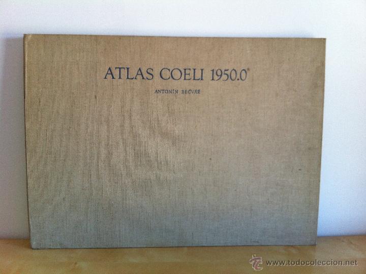 ATLAS COELI 1950.0 ANTONÍN BECVÁR. PRAHA 1956. CSAV. LÁMINAS DE ASTRONOMÍA. MUY ILUSTRADO. (Libros de Segunda Mano - Ciencias, Manuales y Oficios - Astronomía)