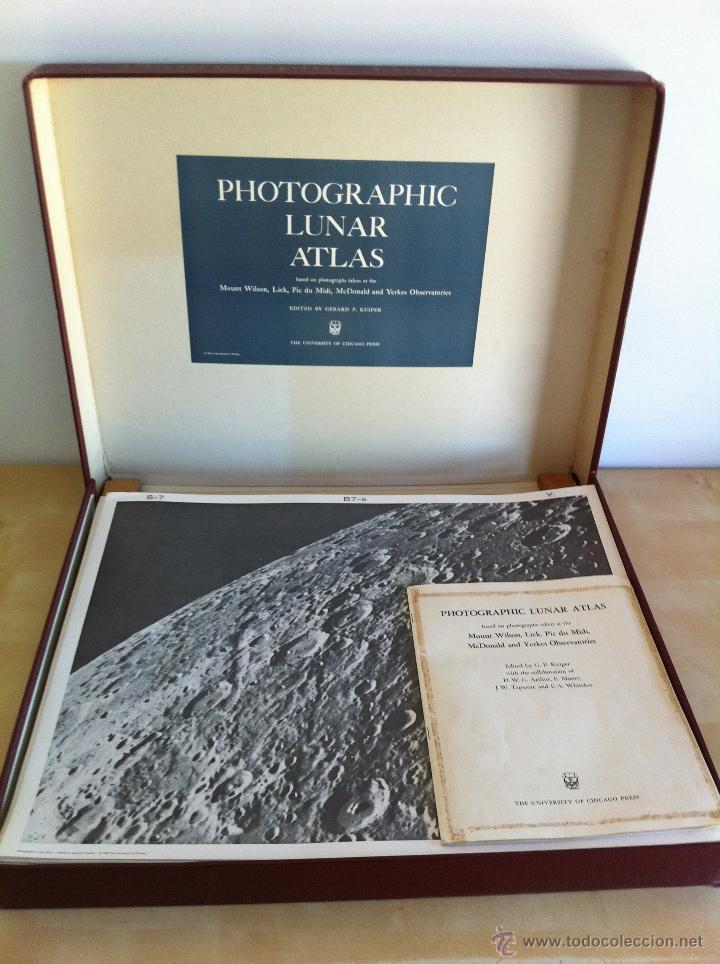 PHOTOGRAPHIC LUNAR ATLAS. EDITED BY GERARD P.KUIPER. --- ATLAS LUNAR. 229 LÁMINAS --- (Libros de Segunda Mano - Ciencias, Manuales y Oficios - Astronomía)
