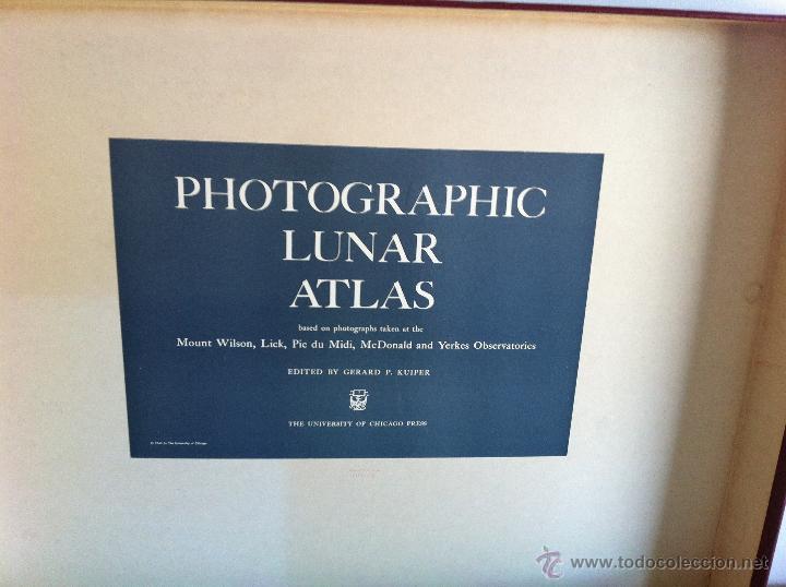 Libros de segunda mano: PHOTOGRAPHIC LUNAR ATLAS. EDITED BY GERARD P.KUIPER. --- ATLAS LUNAR. 229 LÁMINAS --- - Foto 2 - 53741248