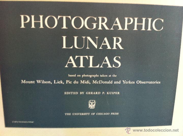 Libros de segunda mano: PHOTOGRAPHIC LUNAR ATLAS. EDITED BY GERARD P.KUIPER. --- ATLAS LUNAR. 229 LÁMINAS --- - Foto 3 - 53741248
