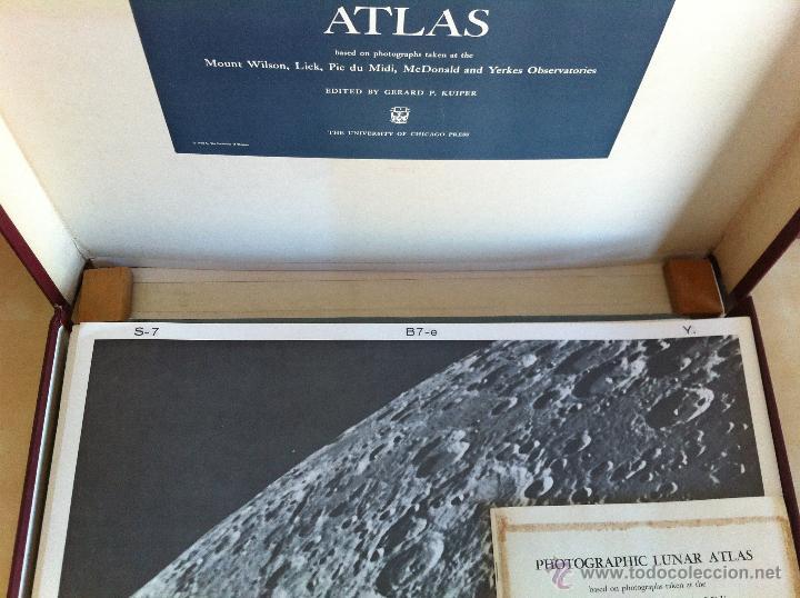 Libros de segunda mano: PHOTOGRAPHIC LUNAR ATLAS. EDITED BY GERARD P.KUIPER. --- ATLAS LUNAR. 229 LÁMINAS --- - Foto 16 - 53741248