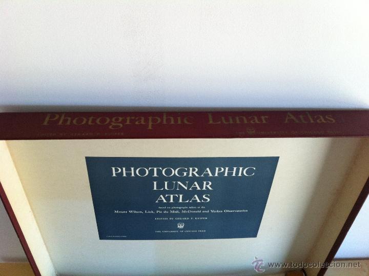 Libros de segunda mano: PHOTOGRAPHIC LUNAR ATLAS. EDITED BY GERARD P.KUIPER. --- ATLAS LUNAR. 229 LÁMINAS --- - Foto 17 - 53741248