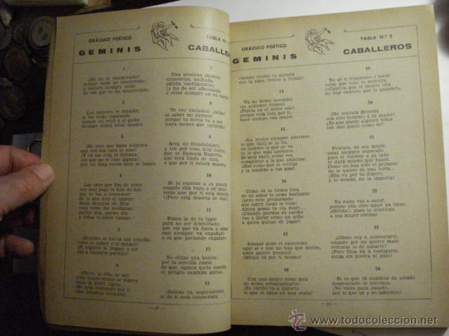 Libros de segunda mano: CURIOSO LIBRO - ORACULO POETICO Y ARTE DE ADIVINACION - DOCTOR ROTEMON AÑO 1944 OTROS EN MI TIENDA - Foto 2 - 48324562