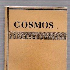 Libros de segunda mano: COSMOS. W. GOMBROWICZ. EDITORIAL SEIX BARRAL, S.A. 1969. Lote 49762485