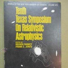 Libros de segunda mano: TENTH TEXAS SYMPOSIUM ON RELATIVISTIC ASTROPHYSICS (ANNALS OF THE NEW YORK ACADEMY OF SCIENCES, VOL.. Lote 51993663