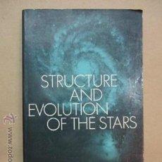 Libros de segunda mano: THE STRUCTURE AND EVOLUTION OF THE STARS (INGLÉS) TAPA BLANDA – 296 PAG. DE M. SCHWARZSCHILD, AUTOR. Lote 51993721