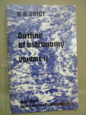Libros de segunda mano: Outline of Astronomy: vol I y II, Tapas Blandas - de H.H. Voigt (Autor), H. Plant (Traductor) - Foto 11 - 51993751