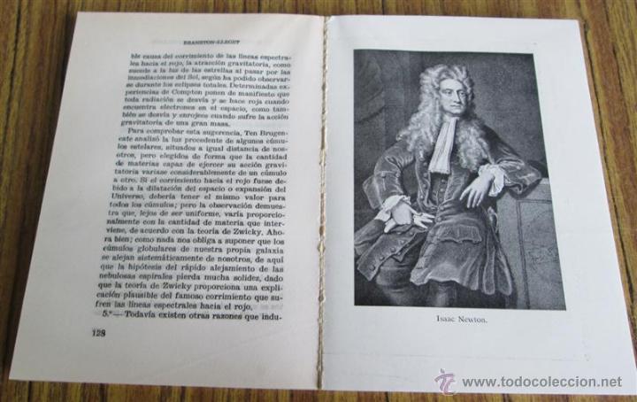 Libros de segunda mano: EL ESPACIO Y LOS MUNDOS ESTELARES - Por Mario Lleget – A. J. Branston - 1ª edición 1962 - Foto 7 - 52697883